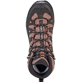 Salomon Quest Prime GTX Chaussures Femme, deep taupe/phantom/tawny orange